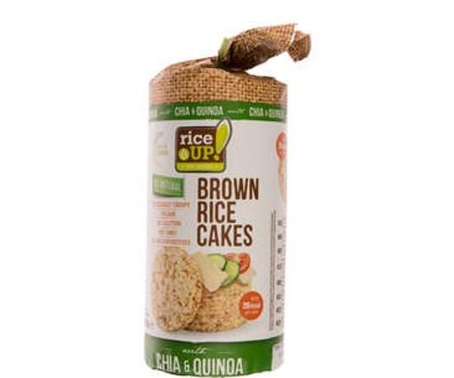 Imagine Rice Up Rondele cu Chia & Quinoa 120 grame