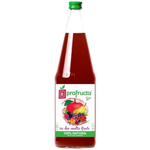 Imagine Suc din multe fructe, natural 100%, 0.25L
