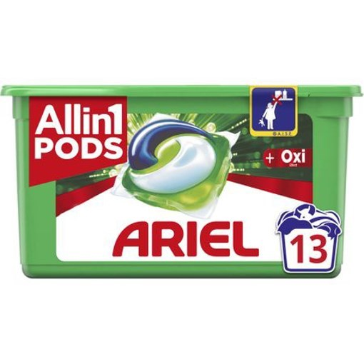 Imagine Ariel Caps Plus unstop pods 13x30ml