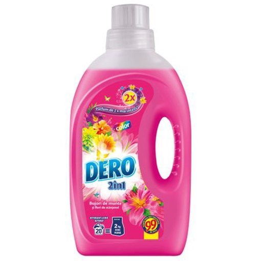 Imagine Detergent 2in1 Bujor de Munte 1L - DERO