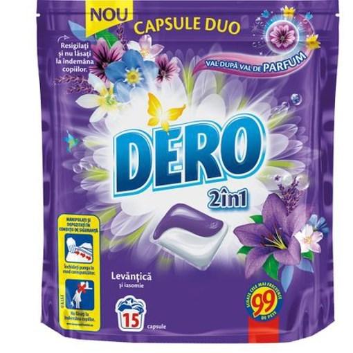 Imagine Detergent 2in1 Capsule Duo Levantica - 15 capsule - DERO