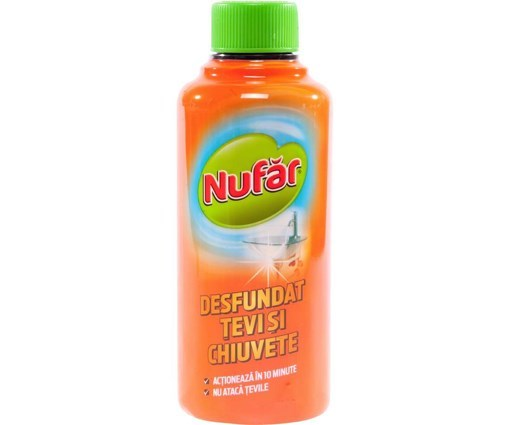 Imagine NUFAR - desfundat tevi si chiuvete, 375 ml