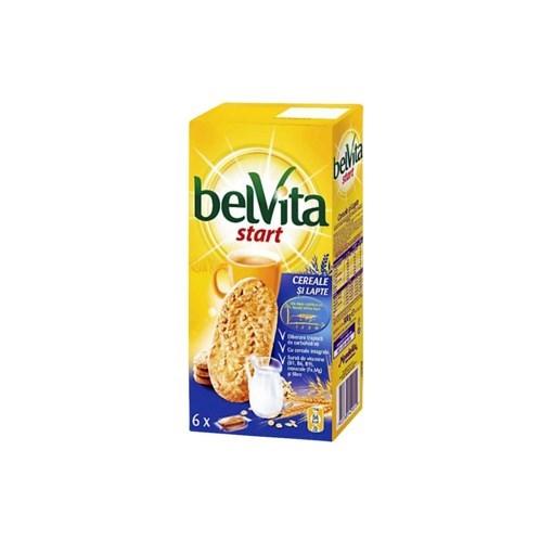 Imagine Belvita Start Cereale Miere Lapte 300 grame