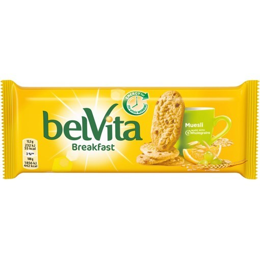Imagine Belvita start cu fructe 300g
