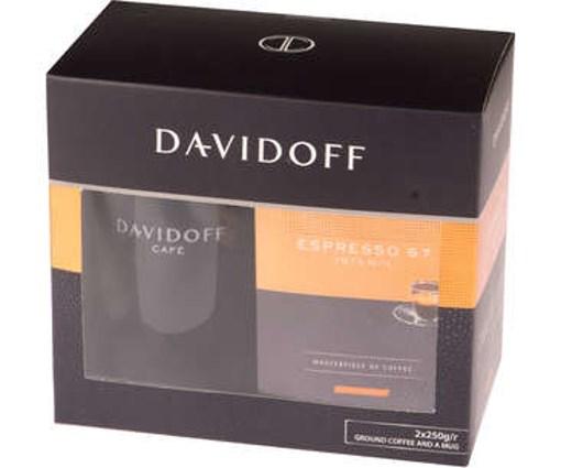 Imagine Davidoff Café Espresso 57 2x250 gr. + Cana Cadou