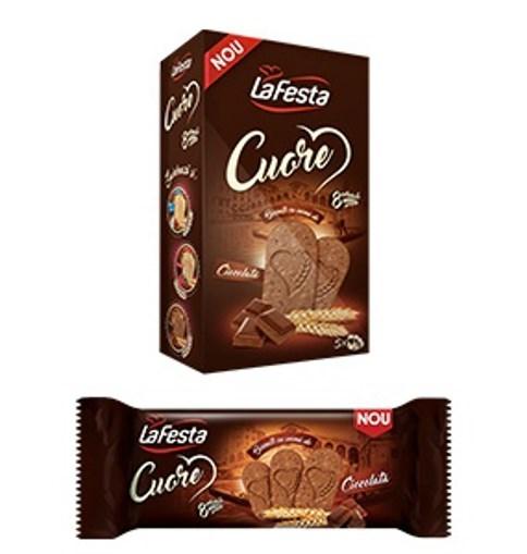 Imagine La Festa Biscuiti Cuore Ciocolata