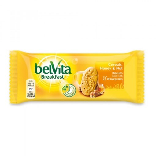 Imagine Belvita start cu miere si alune 50g