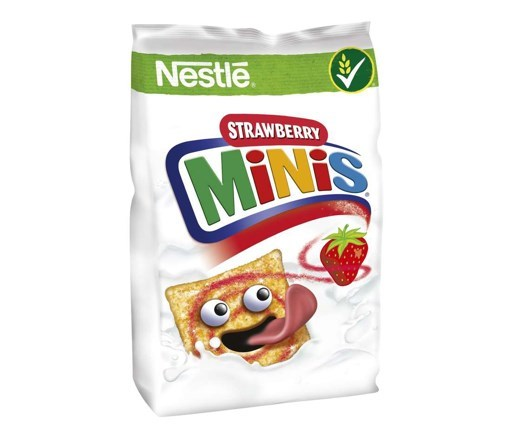 Imagine Strawberry Minis Cereale 250 grame
