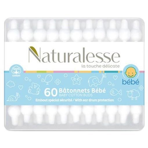 Imagine Naturalesse betisoare baby 60 buc.