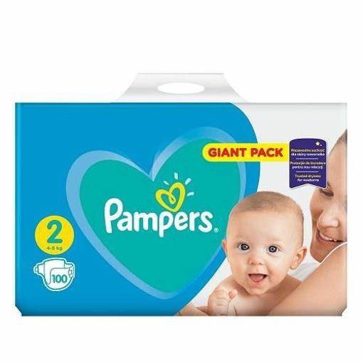 Imagine Pampers 2 New Baby 4-8 Kg.