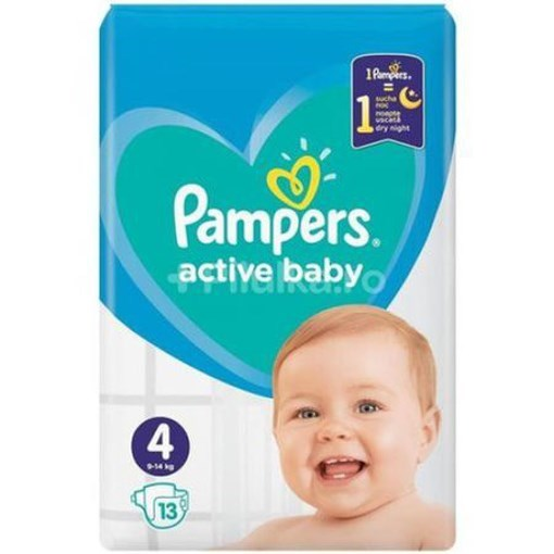 Imagine Pampers 4 Active Baby 9-14 Kg.