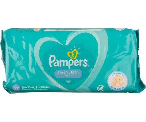 Imagine Pampers servetele fresh clean