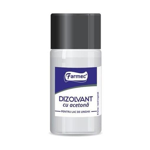 Imagine FARMEC - dizolvant cu acetona pentru lac de unghii, 50 ml