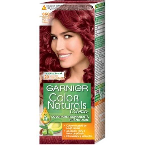 Imagine Garnier color natural vopsea pure red