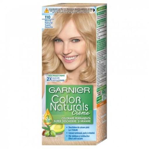 Imagine Garnier Color Naturals 110 Blond Natural Super Deschis cu amoniac