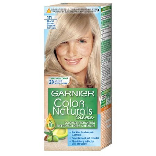 Imagine Garnier vopsea de par 111 Blond FF Deschis Cenusiu
