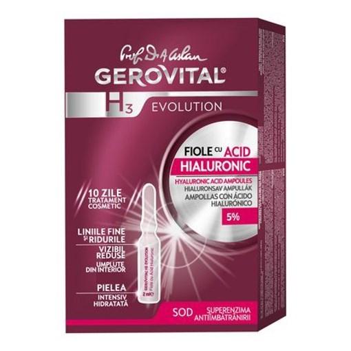 Imagine GH3 EVOLUTION - fiole cu acid hialuronic, 2 ml x10 fiole
