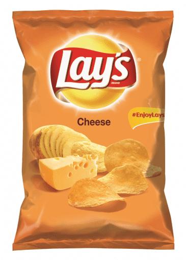 Imagine Lay's chipsuri cu branza 140gr