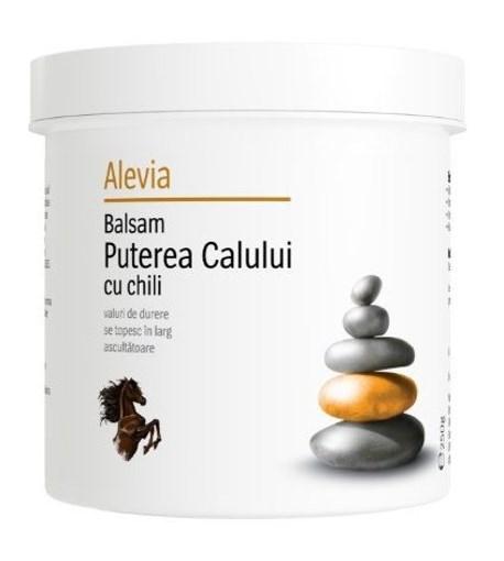 Imagine Alevia - Balsam Puterea calului cu chili 250ml