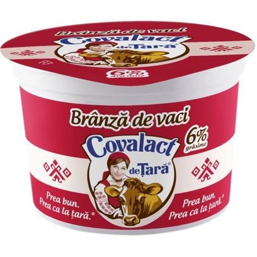 Imagine Branza proaspata de vaci Covalact 200 gr.