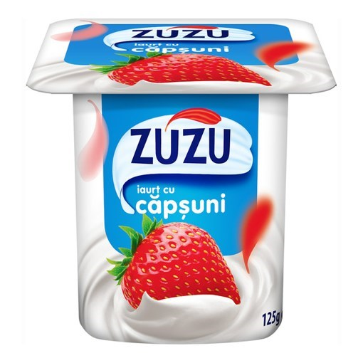 Imagine Iaurt Zuzu capsuni, 125 gr.