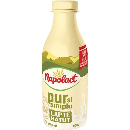 Imagine Lapte batut 2% Napolact Pet 330g