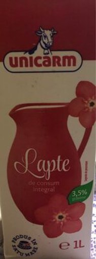 Imagine Lapte Consum Unicarm 1L, 3.5%