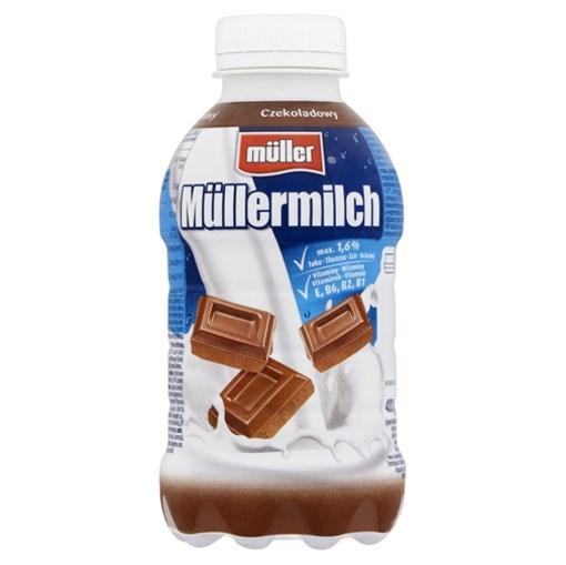 Imagine MullerMilk Ciocolata 400 gr.