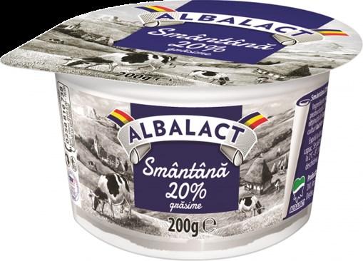 Imagine Smantana Albalact 20% 200 grame