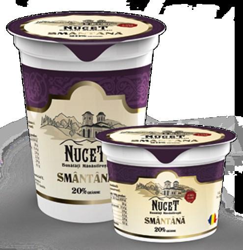 Imagine Smantana Nucet, 20% grasime, 375 gr.