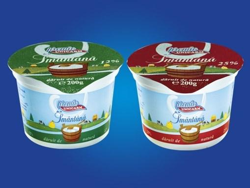 Imagine Smantana Unicarm, 175 gr., 12% grasime