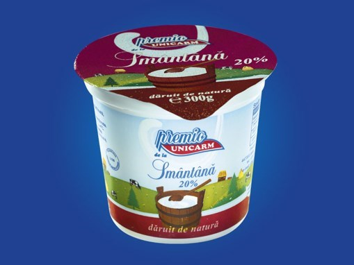 Imagine Smantana Unicarm, 175 gr., 20% grasime