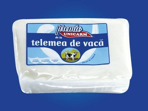 Imagine Telemea de vaca Unicarm, cca 300 gr./punga vid