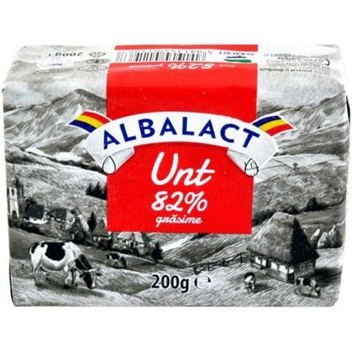 Imagine Unt Albalact 82%, 200 gr.