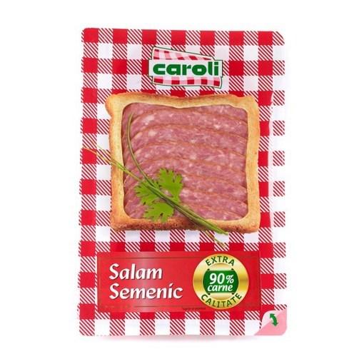Imagine Salam Semenic Extra Caroli, feliat, 100 gr.