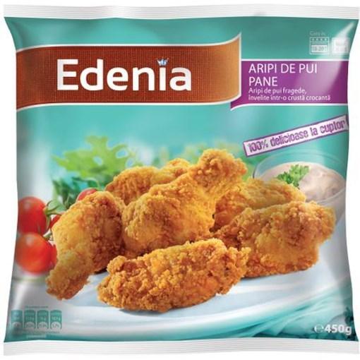 Imagine Aripi Pui Pane 450 gr. Edenia