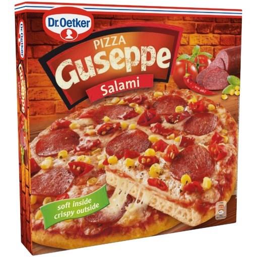 Imagine Dr. Oetker - Pizza Ristorante Guseppe Salami 380 gr.
