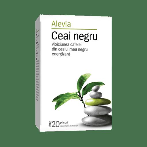 Imagine Alevia - Ceai negru,  20 plicuri