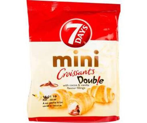Imagine 7Days mini cu Cacao si Vanilie 60gr