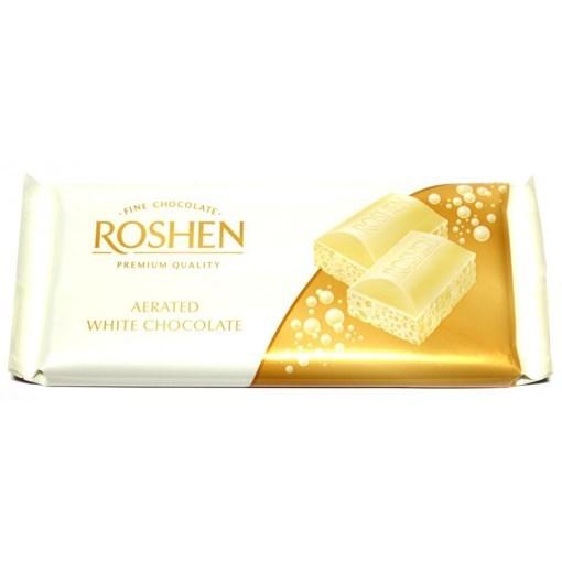 Imagine Chocolate Roshen Aerated White 80 gr. - Ciocolata Alba Aerata