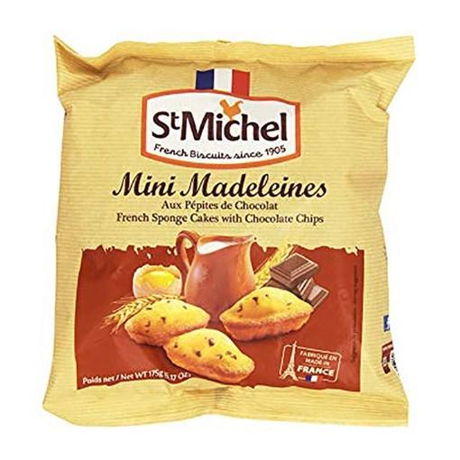 Imagine Mini Madeleines cu Pepite de ciocolata St. Michel 175 grame
