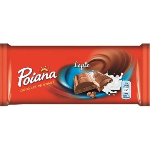 Imagine Poiana Ciocolata cu Lapte 90g