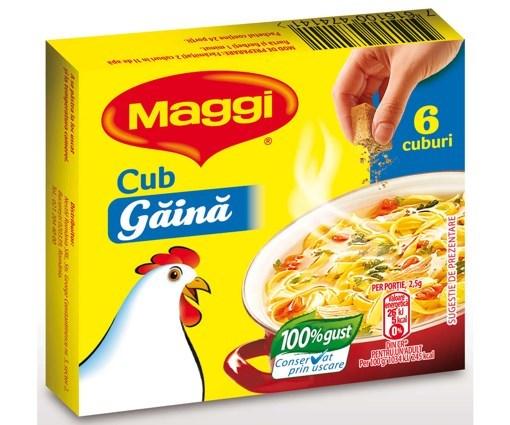 Imagine Maggi cub gaina 60 gr