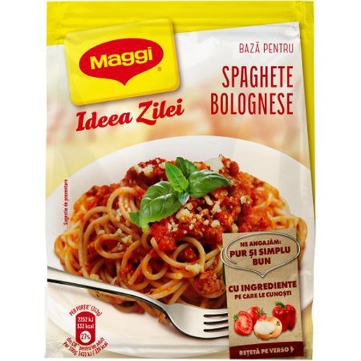 Imagine Maggi Ideea Zilei Spaghete Bolognese 49 gr
