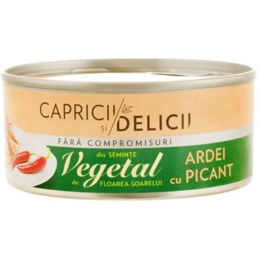 Imagine Pate vegetal cu ardei picant Capricii si Delicii 115gr