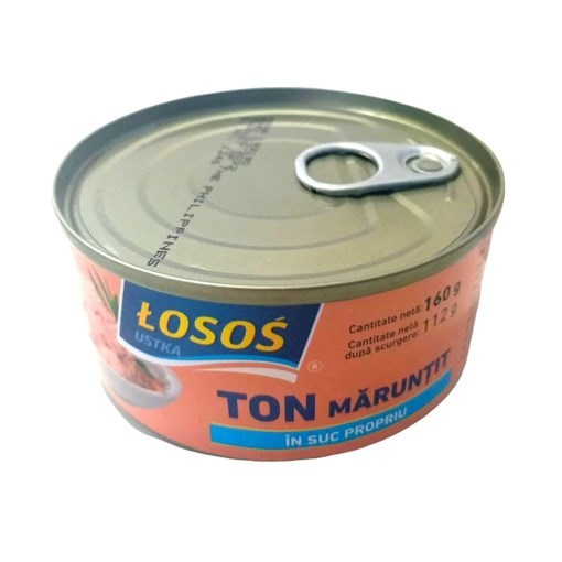 Imagine Losos Ton bucati in suc propriu 160 grame