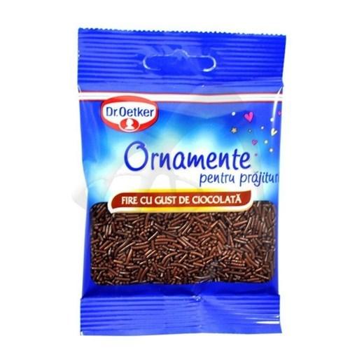 Imagine Ornamente Fire Aromate Ciocolata Dr. Oetker 30 gr