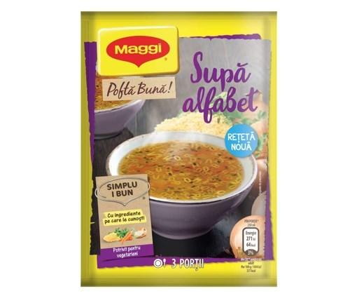 Imagine Maggi supa Alfabet 58 grame