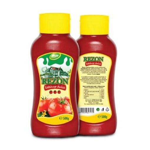 Imagine Rezon Ketchup dulce 17% 500 gr.