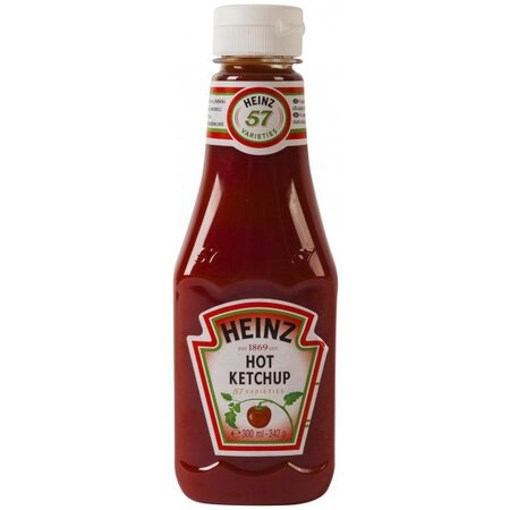 Imagine Ketchup Picant Heinz Top Up 342 gr.